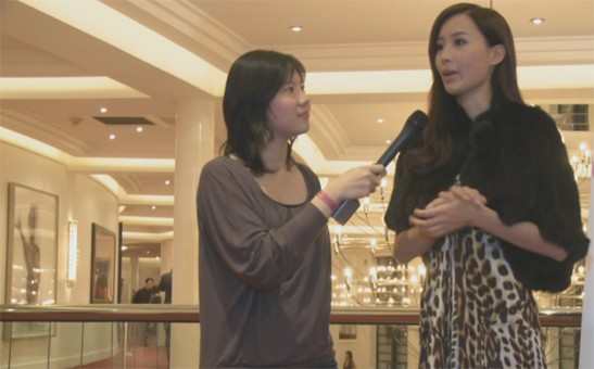 Miss China Europe 2009 - Final Show interview with Fala Chen 陳法拉 - The Hague, NETHERLANDS